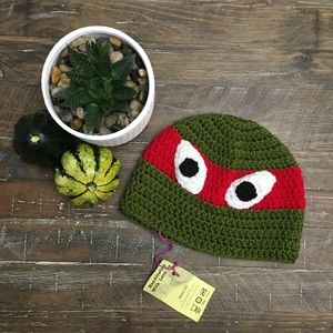 Other - Teenage Mutant Ninja Turtle Knit Touque